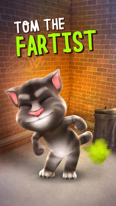 Talking Tom Cat Screenshot 1