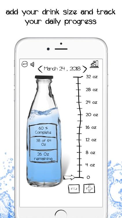 Simple Daily Water Tracker screenshot-5