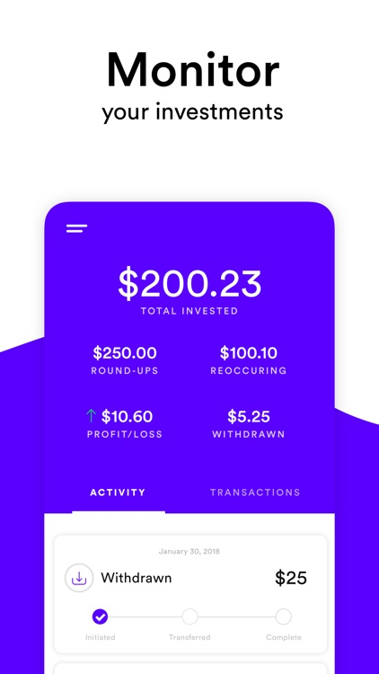 Crumbs - Invest Spare Change screenshot-3