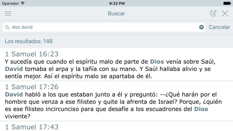 La Biblia Moderna en Español screenshot-3