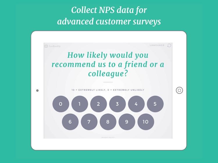 Feedbackly Customer Survey screenshot-3
