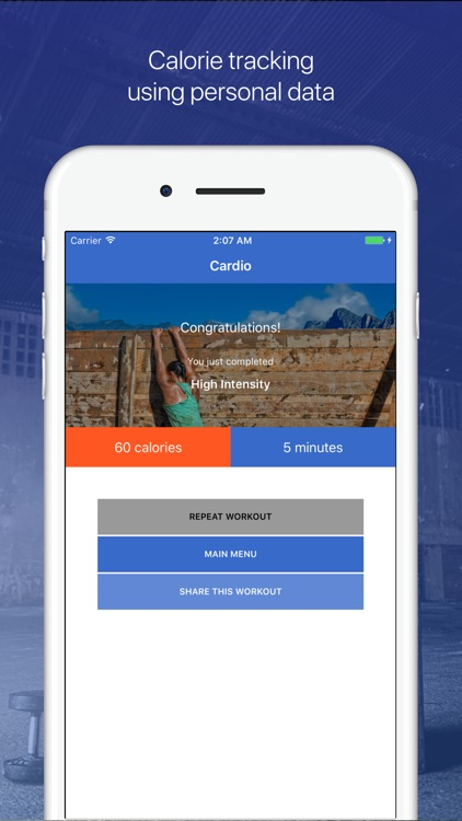 Cardio & HIIT Workout - Fitify screenshot-3