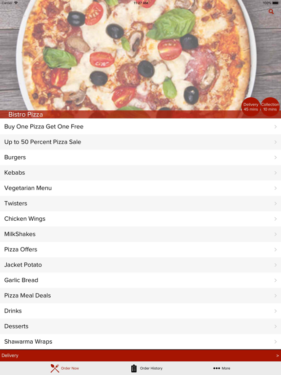 Bistro Pizza App Price Drops
