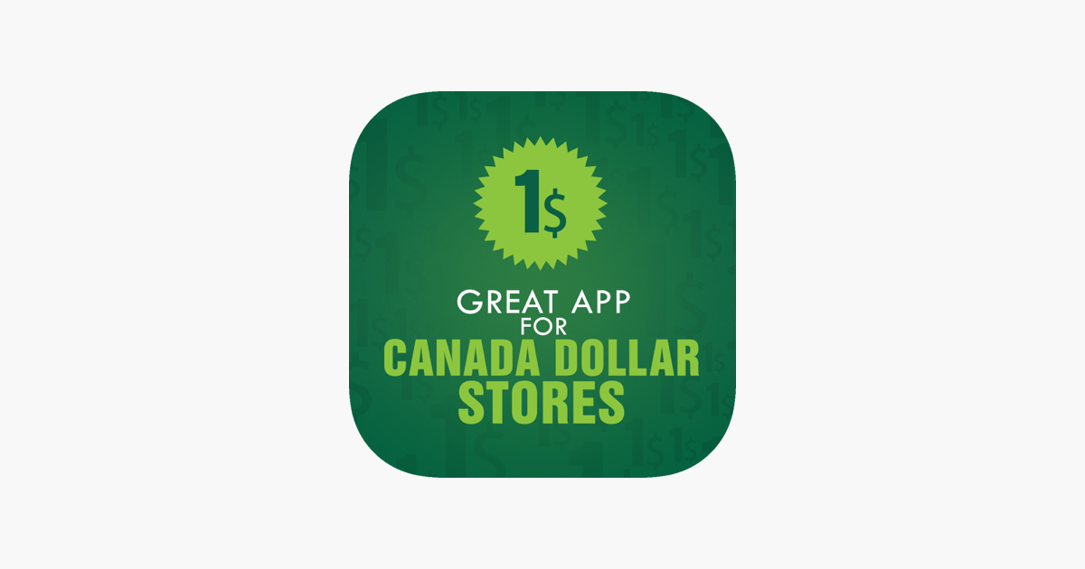 Great App For Canada Dollar Stores On The App Store