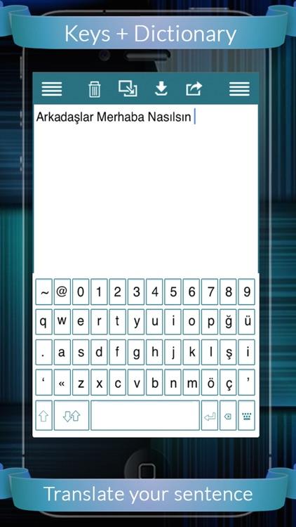 Turkish Eng Dic + Keys screenshot-4