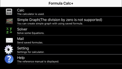 Formula Calc+ Screenshots
