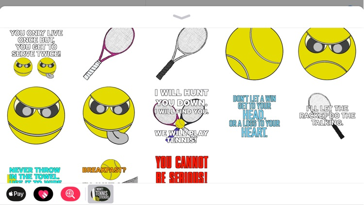 C'mon!!! Tennis Stickers screenshot-3