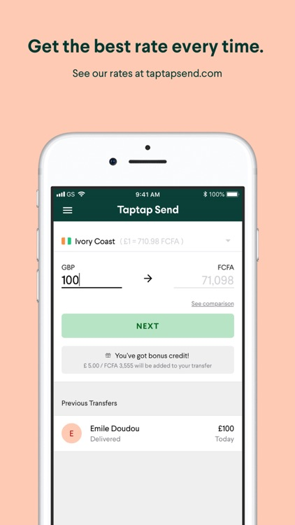 Taptap Send: Money Transfer by Taptap Send, Inc
