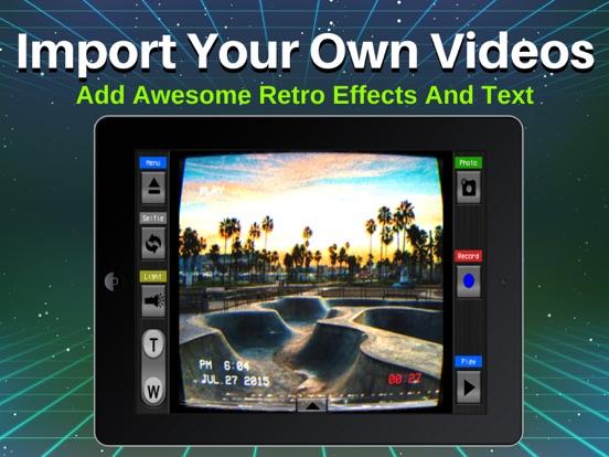 Retro VHS Old School Camcorder | App Price Drops