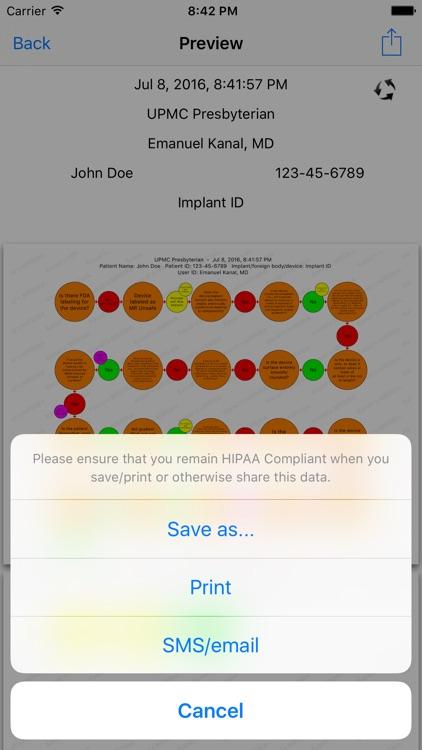 Kanal's MR Risk Assessment screenshot-3