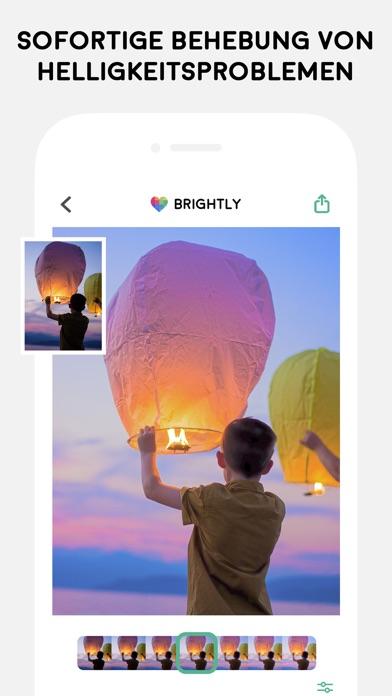 Brightly - Rette dunkle FotosScreenshot von 2
