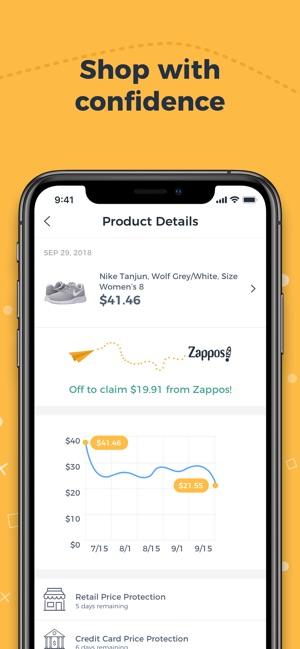 Earny Automatic Cash Back En App Store