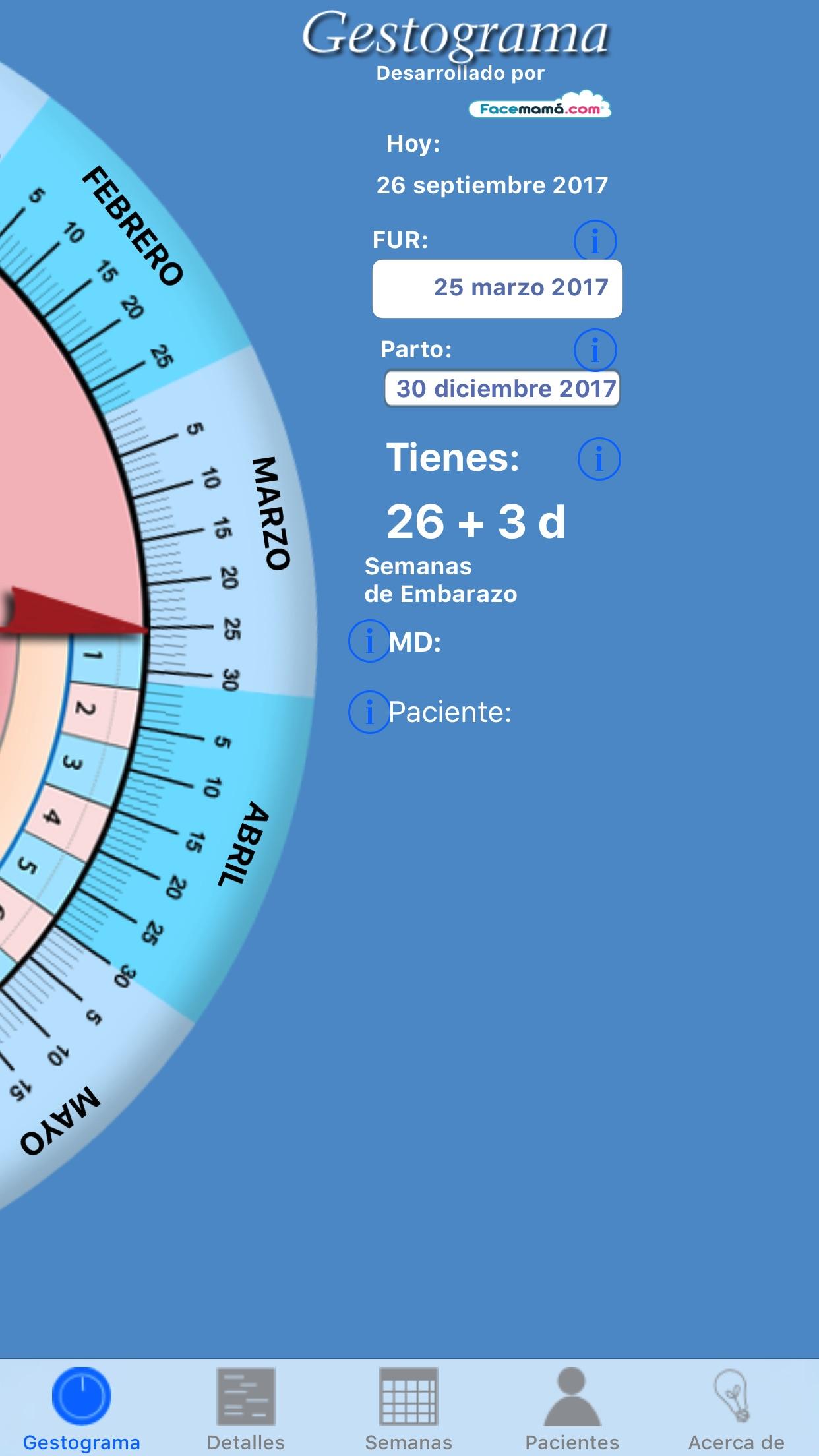 Gestograma para Médicos Screenshot