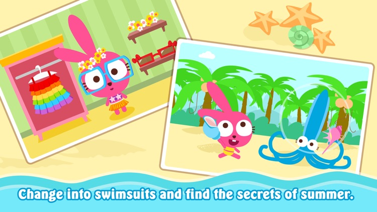 Purple Pink Summer Beach screenshot-4