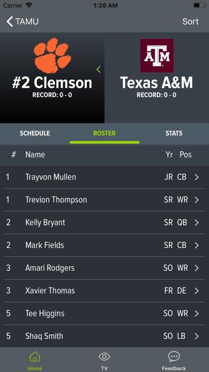 SEC Football Scores and More screenshot-5