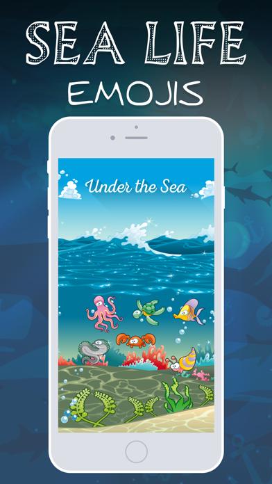 Sea Life Emojis screenshot two
