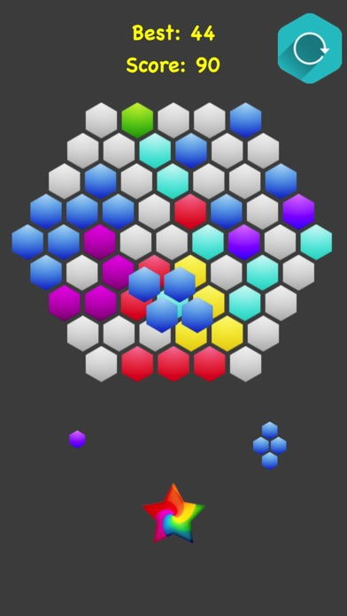 Hexagonal Merge screenshot 4