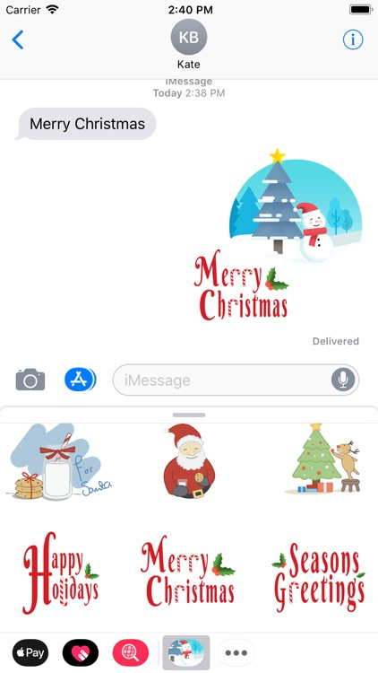 Xmas Sticker screenshot-0