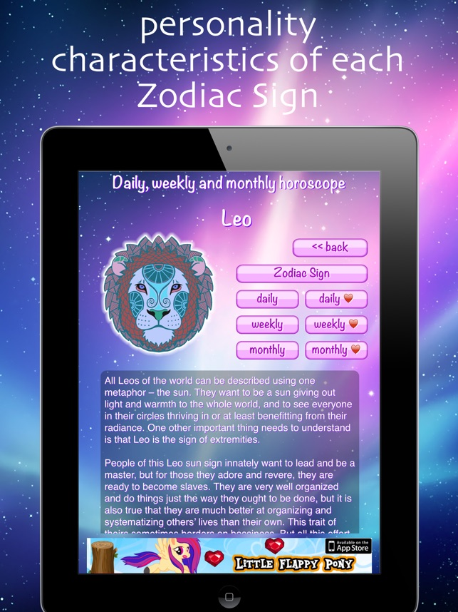 Daily Weekly Monthly Horoscope on the App Store