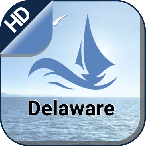 Delaware offline gps nautical charts for cruising