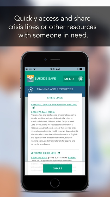 Suicide Safe by SAMHSA screenshot-4