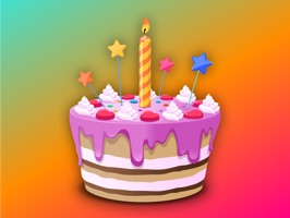 Birthday Party Stickers Wishes