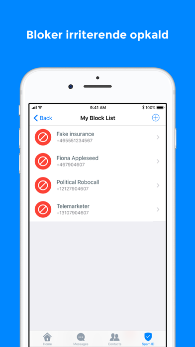 Screenshot for Truecaller in Denmark App Store
