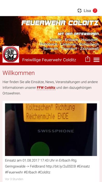 Freiwillige Feuerwehr Colditz screenshot 1