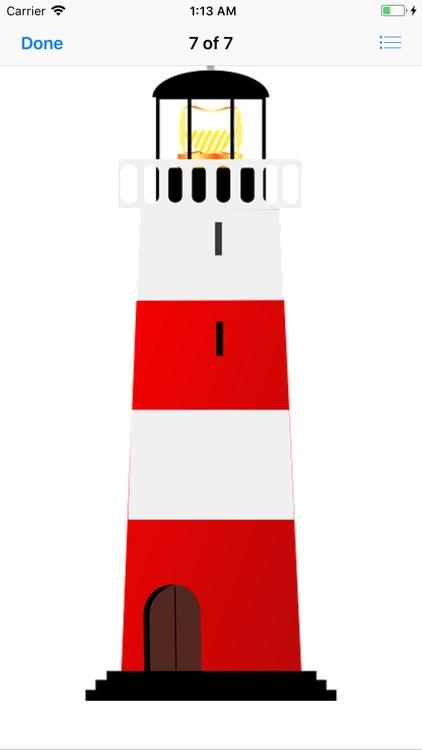 Lighthouse Stickers screenshot-7