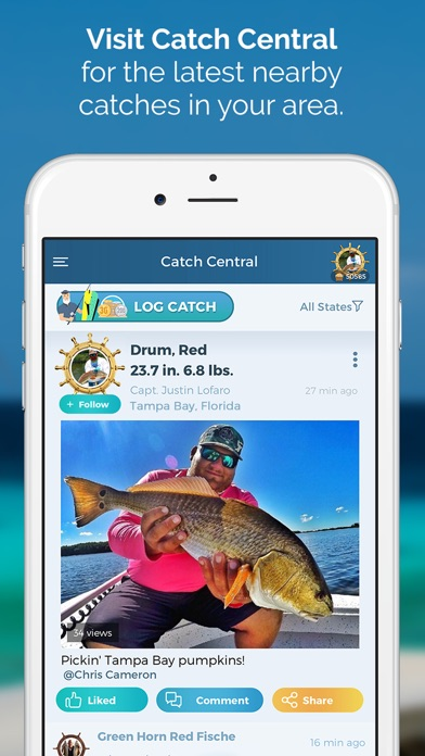 Pro angler fishing reports app download android apk for I fish pro