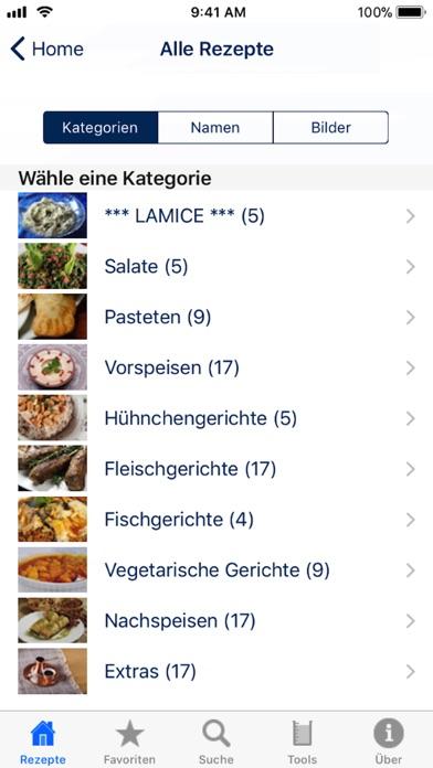 Screenshot for 100 Libanesische Rezepte in Germany App Store