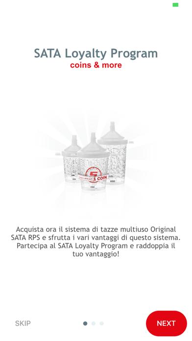 Screenshot of SATA Loyalty App5