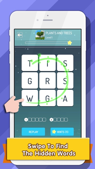 Word Hunt : Word search puzzle