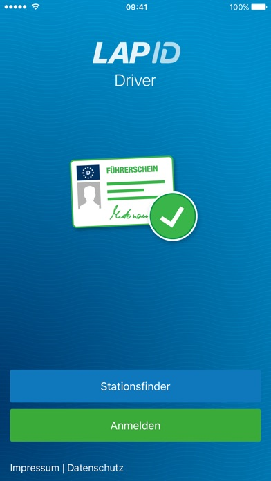 LapID DriverScreenshot von 1