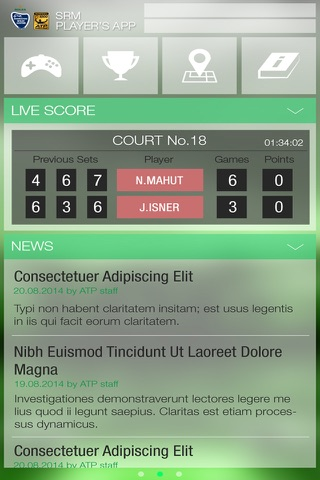 SRM Players App screenshot 1