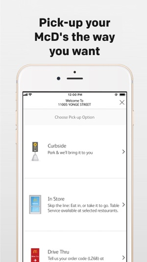 my mcd s on the app store rh itunes apple com OC McDonald San Jose CA McDonald All Order
