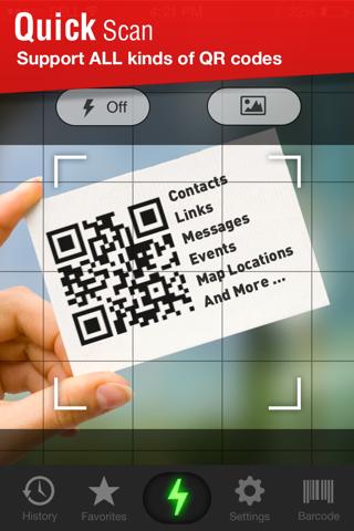 Quick Scan - QR Code Reader - náhled