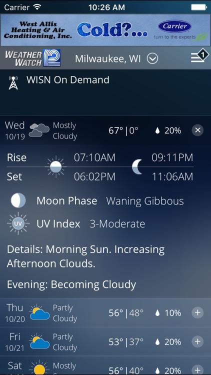 WISN WeatherWatch 12 screenshot-4