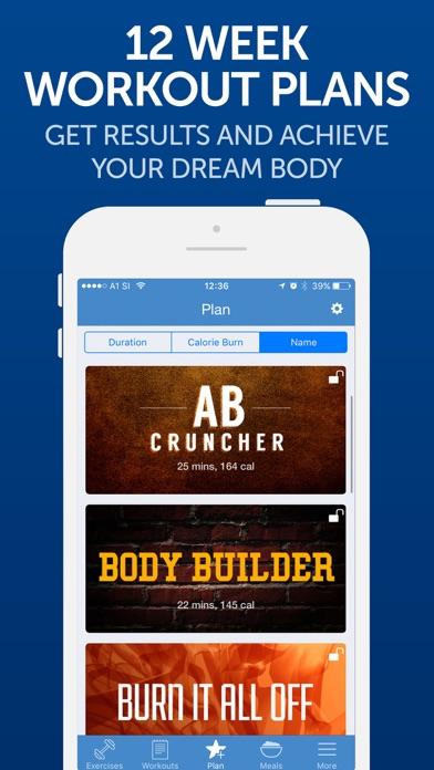 Fitness Buddy+: Gym Workouts screenshot 4