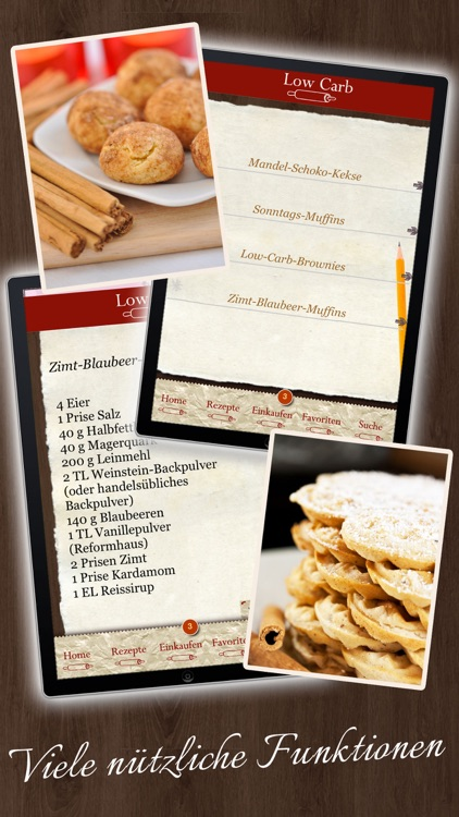 Low Carb Rezepte - Backbuch screenshot-4