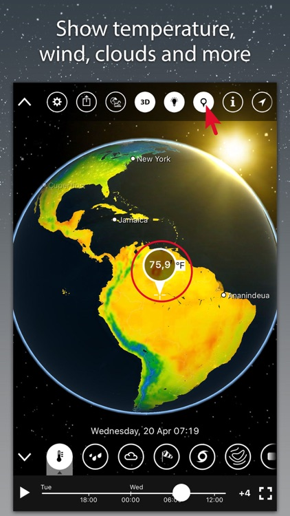 MeteoEarth screenshot-0