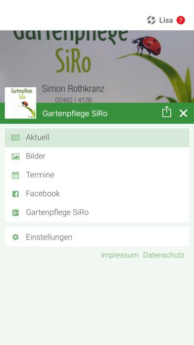 Gartenpflege SiRo screenshot 2