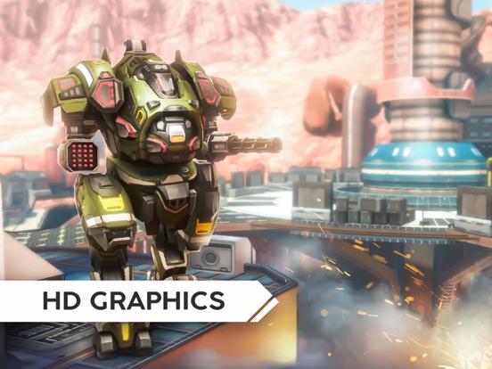 Robot Warfare: Mech Battle screenshot 15