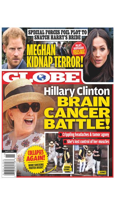 Globe Magazine Screenshot