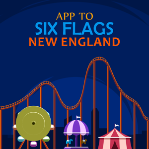 App to Six Flags New England - Navigation app