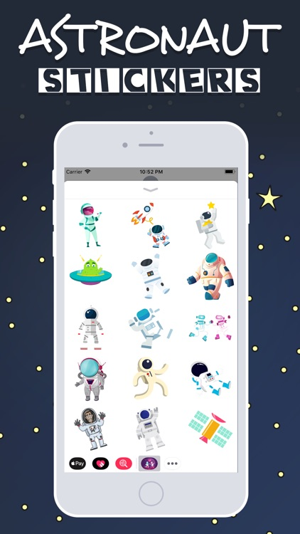Astronaut  Emojis screenshot-2