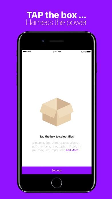 Compress Files with Zipped screenshot 1