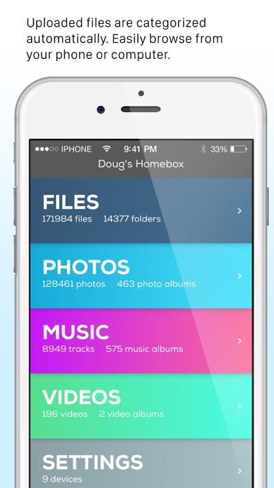 Filegear Personal Cloud Drive screenshot four