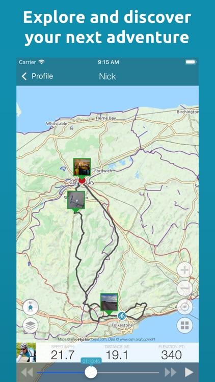 Map My Tracks Running screenshot-4