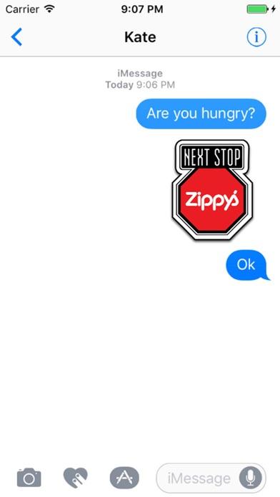 Zippy's Restaurants StickersScreenshot of 1